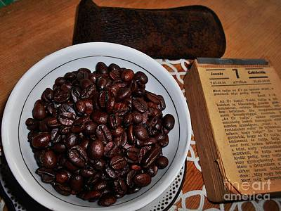 Photograph - Vintage Coffee Still Life 2 by Erika H