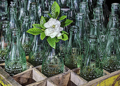 Photograph - Vintage Coke Still Life by JC Findley