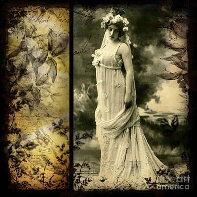Vintage Collage 24 Art Print by Angelina Cornidez