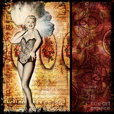 Vintage Collage 5 Art Print