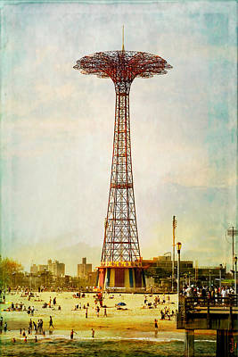 Photograph - Vintage Coney Island by Chris Lord
