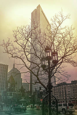 Photograph - Vintage Copley Square - Boston by Joann Vitali