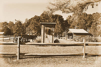 Photograph - Vintage Country Scene by Bob Sample