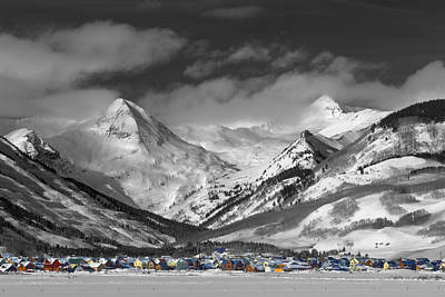 Buttes Photograph - Vintage Crested Butte by Dusty Demerson