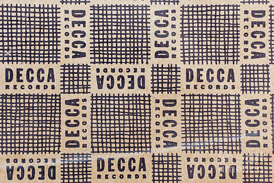 Photograph - Vintage Decca Records Pattern by Edward Fielding
