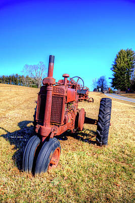 Photograph - Vintage Deere by Dale R Carlson