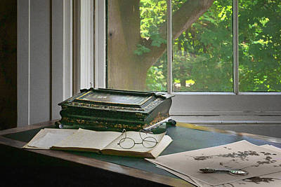 Photograph - Vintage Desk - Still Life by Nikolyn McDonald