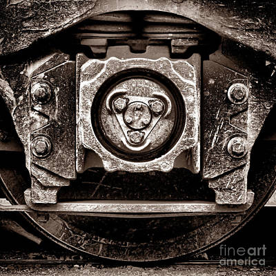 Photograph - Vintage Diesel Engine Locomotive Truck by Olivier Le Queinec