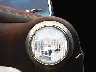 Nostalgic Photograph - Vintage Dodge by Steven Michael