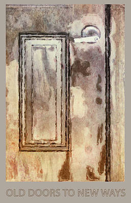 Digital Art - Vintage Door 1 by Eduardo Tavares