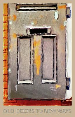 Digital Art - Vintage Door 2 by Eduardo Tavares