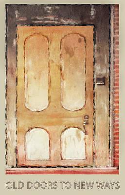 Digital Art - Vintage Door 3 by Eduardo Tavares
