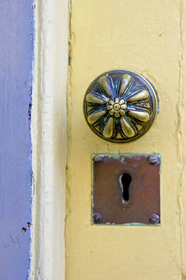 Vintage Door Knob Art Print by Tom Gowanlock