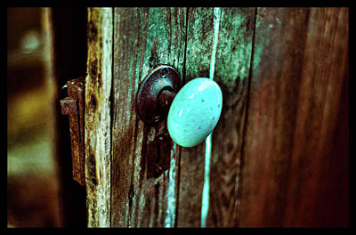 Photograph - Vintage Door by La Dolce Vita