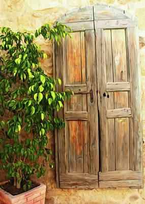 Photograph - Vintage Door by Munir Alawi