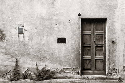 Photograph - Vintage Door by Songquan Deng