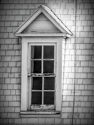 Photograph - Vintage Dormer Window  by Leslie Montgomery