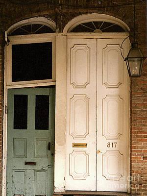 Photograph - Vintage Dorways In New Orleans, La by Merton Allen