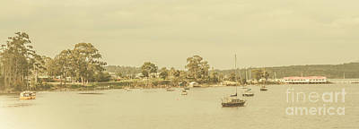 Boat Harbour Wall Art - Photograph - Vintage Dover Harbour Tasmania by Jorgo Photography - Wall Art Gallery