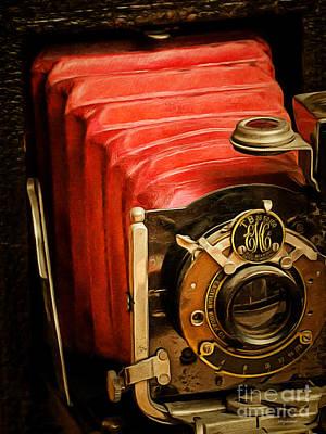 Photograph - Vintage Eastman Kodak Folding Pocket Camera Tb 25 50 100 20170915 by Wingsdomain Art and Photography