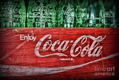 Photograph - Vintage Enjoy Coca-cola by Paul Ward
