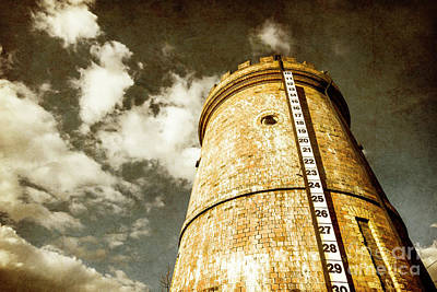 Old Rustic Building Wall Art - Photograph - Vintage Evendale Water Tower by Jorgo Photography - Wall Art Gallery