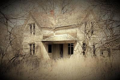 Namaste With Pixels - Vintage Farmhouse by Toni Grote