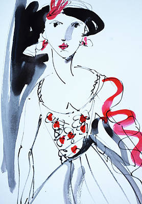 Painting - Vintage Fashion  by Amara Dacer
