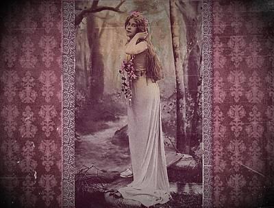 Vintage Femme Fatale Art Print