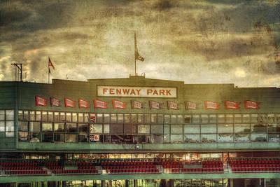 Landmarks Royalty Free Images - Vintage Fenway Park - Boston Royalty-Free Image by Joann Vitali