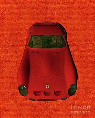 Abstract Landscape Royalty-Free and Rights-Managed Images - Vintage Ferrari by Pierre Blanchard
