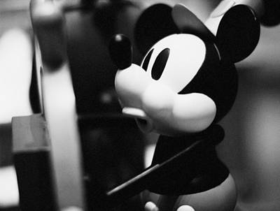 Photograph - Vintage Film Mickey by Nicholas Evans