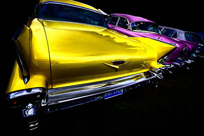 Photograph - Vintage Fins by David Patterson