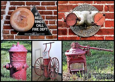 Photograph - Vintage Fire Apparatus by Janice Drew