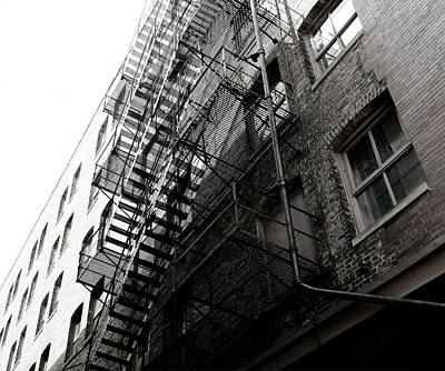 Photograph - Vintage Fire Escape by Marilyn Hunt
