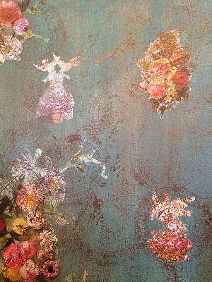 Decoupage Mixed Media - Vintage Flair by Dawn Neumeister