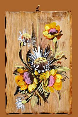 Painting - Vintage Floral Bouquet by Joy of Life Art Gallery