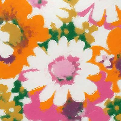 Vintage Flower 430 Art Print
