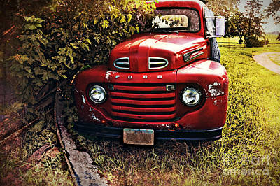 Photograph - Vintage Ford 2 by Kathy M Krause