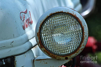 Photograph - Vintage Ford by Ann E Robson