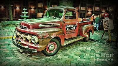 Photograph - Vintage Ford F1 Sanford And Son by Paul Ward