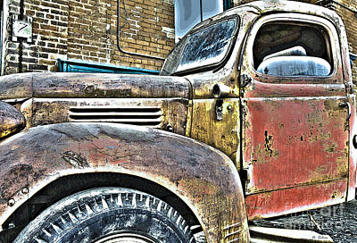 Photograph - Vintage Fargo II by Nina Silver