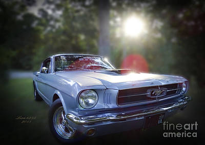 Photograph - Vintage Ford Mustang by Melissa Messick