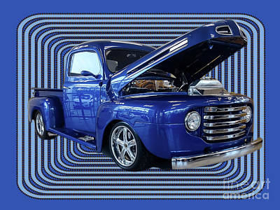 Photograph - Vintage Ford Pop Pickup Truck by Melissa Messick