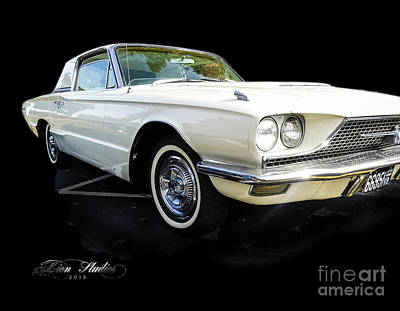 Digital Art - Vintage Ford Thunderbird by Melissa Messick