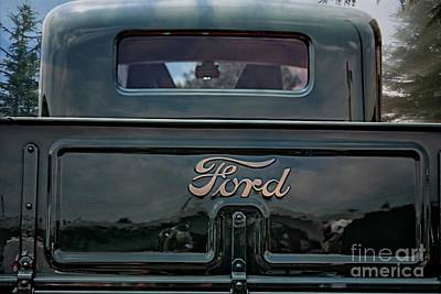 Photograph - Vintage Ford Truck by Ella Kaye Dickey