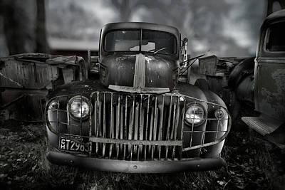 Vintage Ford Truck Print by Yo Pedro