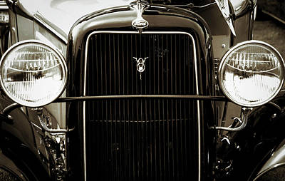 Photograph - Vintage Ford V8 by Kathleen Messmer