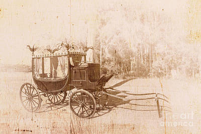 Ceremony Photograph - Vintage Funeral Hearse by Jorgo Photography - Wall Art Gallery