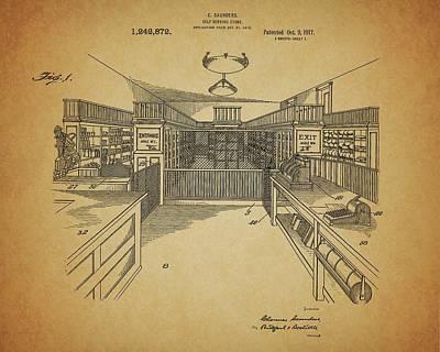 Vintage General Store Print by Dan Sproul